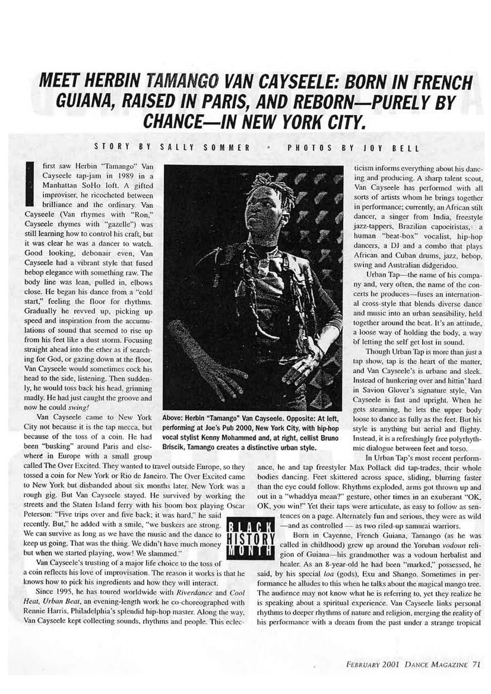 Revue de presse en anglais Urban Tap 2000 à 2007_Page_02